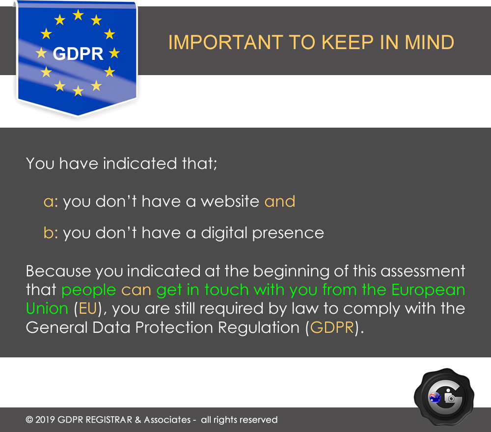 GDPR FREE COMPLIANCE CHECK 83