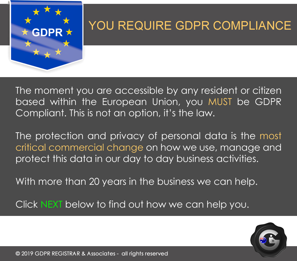GDPR FREE COMPLIANCE CHECK 87